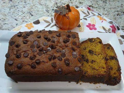 Chocolate Chip Pumpkin Loaf -Recipe- (ft. Oneinaminion AJ)   Ep  #74