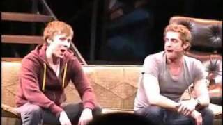 Steven Booth and Colin Hanlon sing Pasek and Paul's