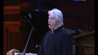 Dmitri Hvorostovsky - Tell Me, What in the Shade of the Branches? (Tchaikovsky)
