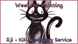 speed painting jiji kiki s delivery service