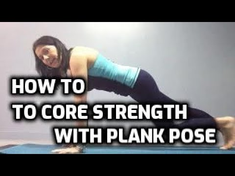 Strength Building Yoga! Plank Pose | Yoga with Gwen Lawrence