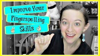 Improve Your Receptive Fingerspelling Skills ┃ ASL Stew