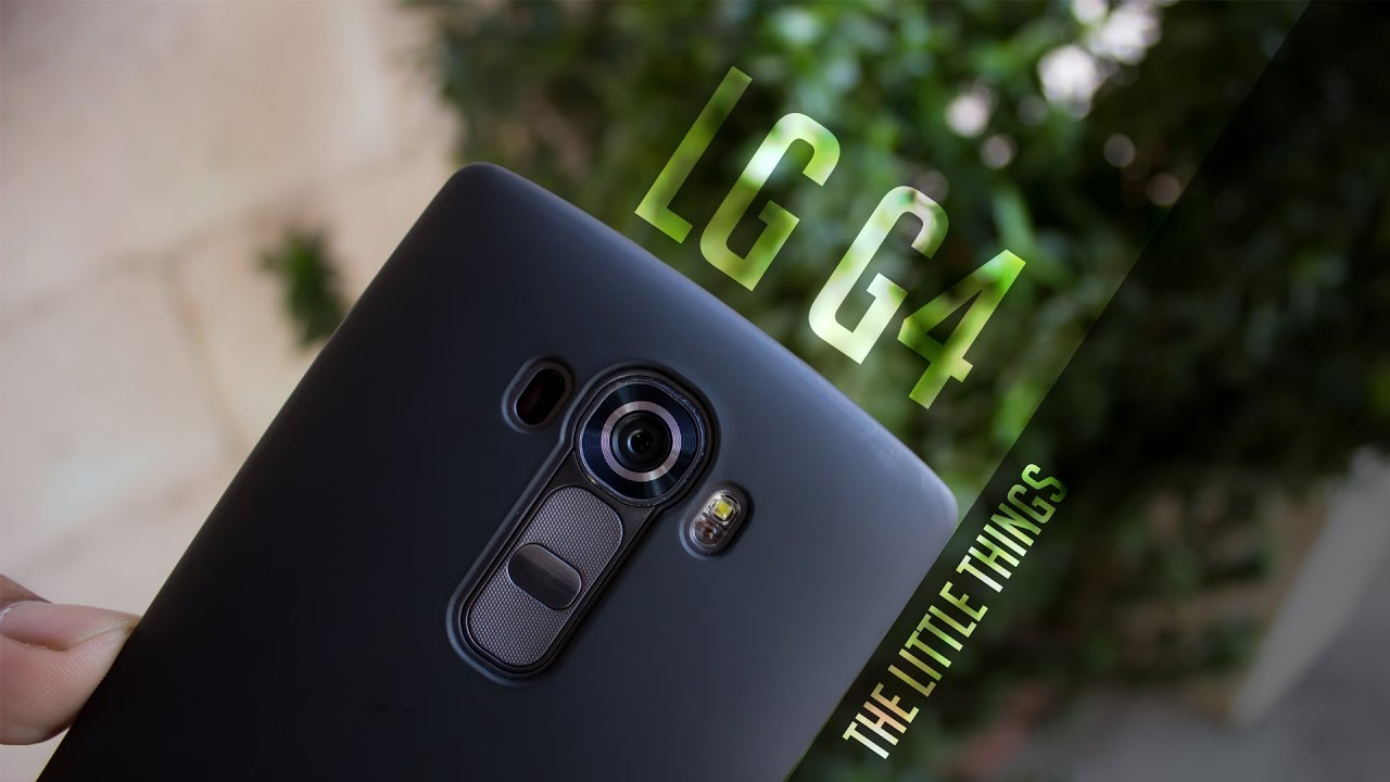 LG G4 - The Little Things | Hidden Features? Maybe Not