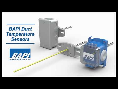BAPI Duct Temperature Sensor Overview