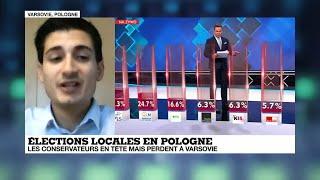 Élections en Pologne : les conservateurs en tête perdent Varsovie