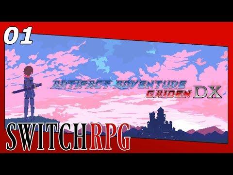 Artifact Adventure Gaiden DX - Nintendo Switch Gameplay - Episode 1 - The Journey Begins
