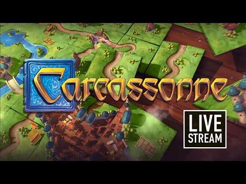 CARCASSONNE: Играем онлайн в настольную игру (18+ мат)