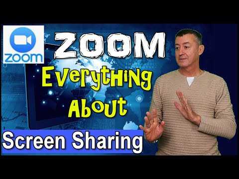 Zoom Complete Training In Screen Sharing #teachonline #zoomtraining