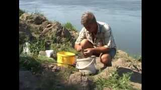 Приемы лова на донную снасть(Видео о ловле на обычную донку на реке Дон., 2013-02-20T08:25:06.000Z)