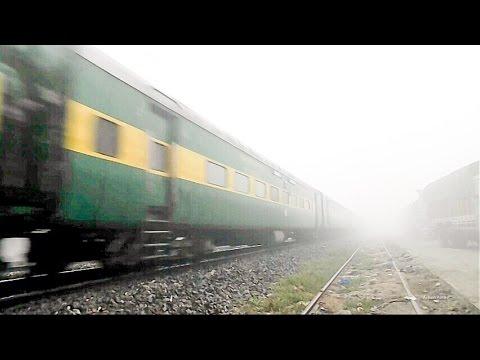 Winter Season First Fog Show : Saharsa-Amritsar GaribRath Running 8 Hrs late in Zero Visibility !!!!