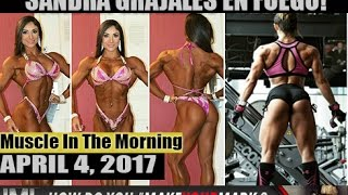 sandra grajales en fuego muscle in the morning april 4 2017