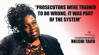 NKECHI TAIFA talks about institutional racism and how prosecutors are trained to do wrong