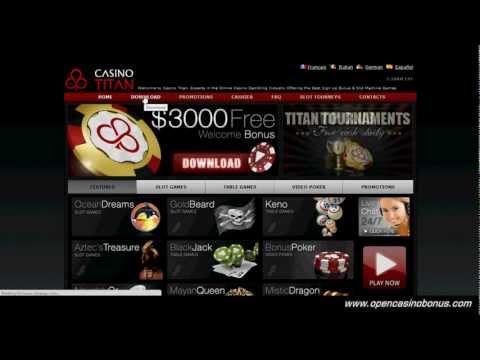 Casino Titan - $20 Free No Deposit - Casino Titan Bonus Code