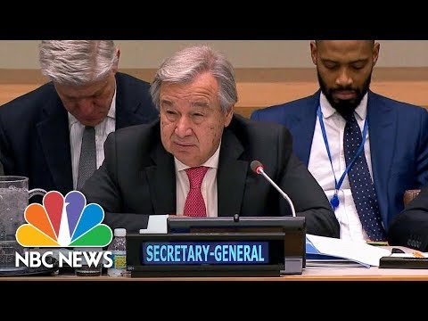 UN Chief Condemns DR Congo Attack On Peacekeepers | NBC News