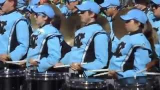2015 UNC vs Miami Tarheel Town Drumline