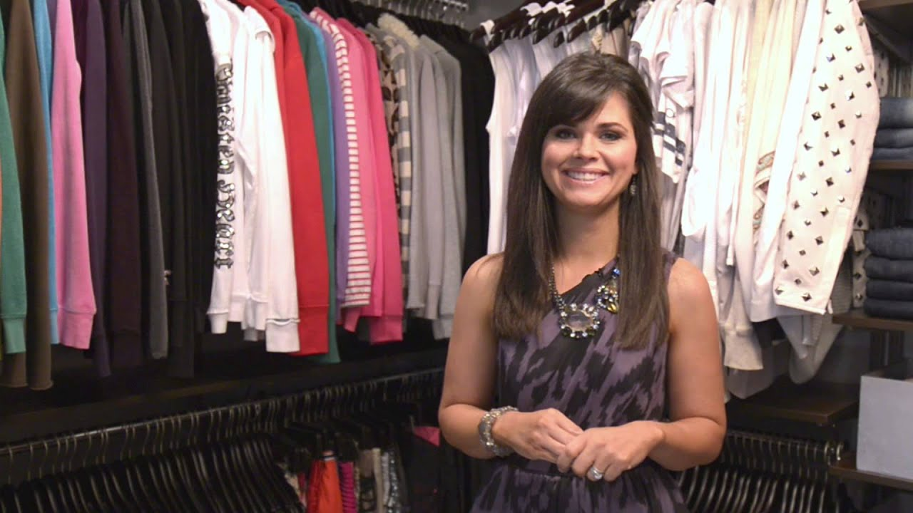 How To Organize A Walk In Closet | OrganizedLiving.com   YouTube