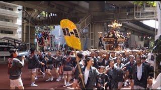 深川八幡祭り 日本橋箱崎町周辺