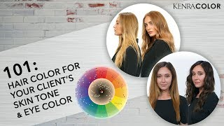 101: Hair Color for Your Client's Skin Tone and Eye Color | Kenra Color screenshot 2