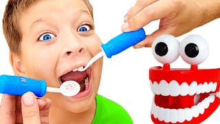 Dentist Song   Healthy Habits + more Cartoons & Kids Songs with Max