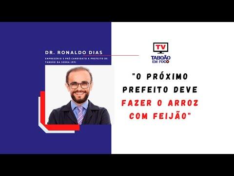 Entrevista com Dr. Ronaldo Dias, pré-candidato a prefeito de Taboão da Serra