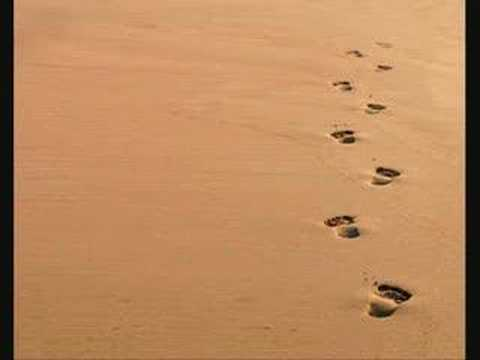 Footprints In The Sand - YouTube