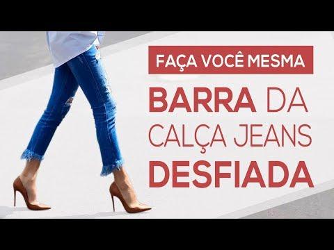 FAÇA VOCÊ MESMA | BARRA da Calça Jeans DESFIADA (3 Modelos Lindos!)!