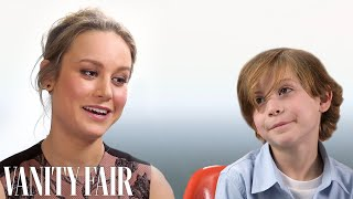 How Room's Brie Larson and Jacob Tremblay Bonded over Star Wars | Vanity Fair