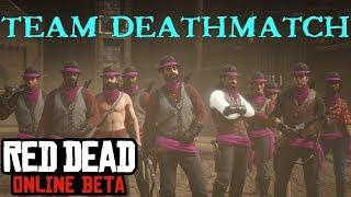 Red Dead Online Beta |  Team shootout (Deathmatch) MVP