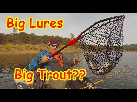 Big Lures For Big Fish! Is It True?