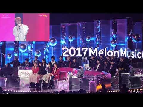 """Phản Ứng Của Các Nhóm Nhạc Idol Kpop Khi Xem BTS Biểu Diễn Bài Hát """"DNA"""",""""Spring Day""""(IU,Wana One,.."""