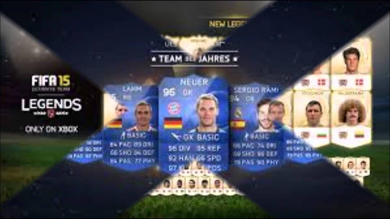 Fifa 15 Ultimate Team Unendlich Münzen Spieler Youtube