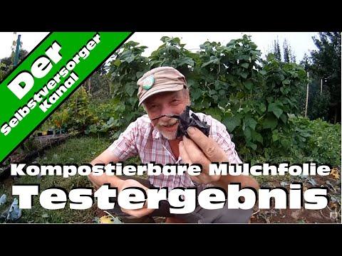 Kompostierbare Mulchfolie Testergebnis