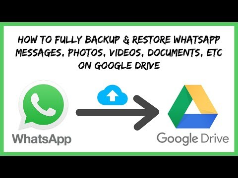 How to retrieve whatsapp chat history from google drive