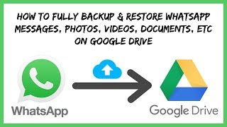 Easiest Method - How to Backup & Restore Whatsapp Messages to Google Drive in Hindi - 100% Working
