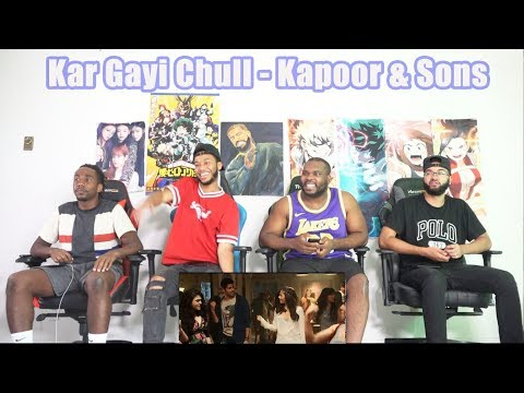 Kar Gayi Chull - Kapoor & Sons  Sidharth Malhotra  Alia Bhatt  Badshah  Amaal Mallik REACTION