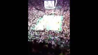 Last minute of Celtic n Knicks
