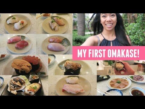 I'm Sorry & My First Omakase Experience! (Sushi Sasabune)