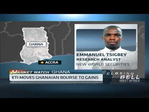 Ghana composite Index up 77.69%
