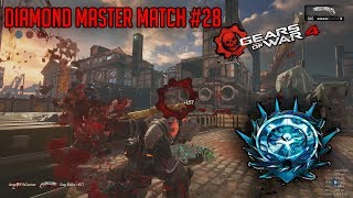 Ranked Diamond Master Escalation Match #28 | Gears Of War 4 PC Multiplayer Gameplay