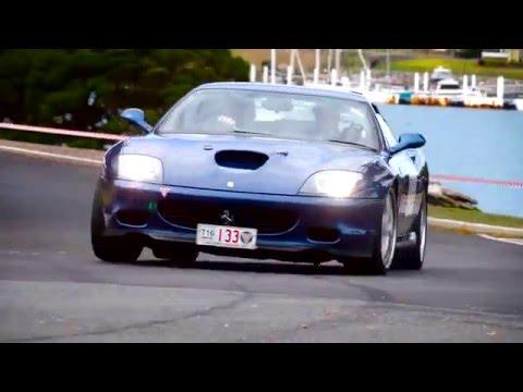 Targa Tasmania 2016 - Ferrari 575M Maranello Pure Sound