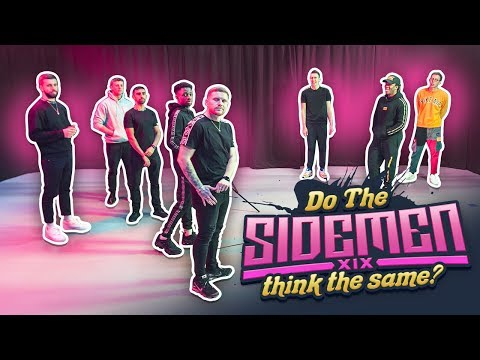 Do all the Sidemen think the same? #2