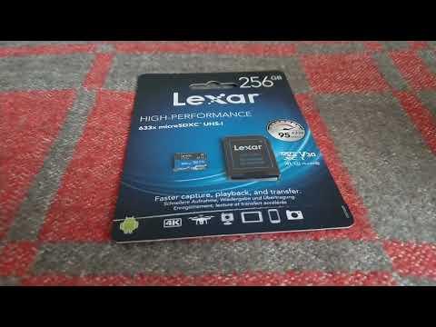 ОНЛАЙН ТРЕЙД РУ — Карта памяти Micro SDXC 256Gb Lexar High Performance 633x UHS I U3 V30 A1 + ADP 95