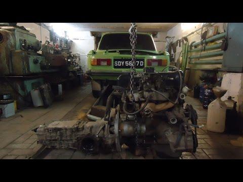 Установка двигателя Ваз на Заз 968,часть первая стыковка ДВС и КПП.