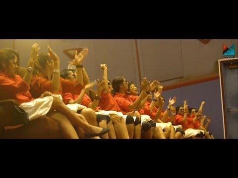 Entammede Jimmiki Kammal Song Viral in Dubai Theatre | Velipadinte Pusthakam