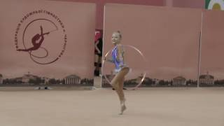 Долеско Анна (Обруч) Художественная гимнастика. Чемпионат Черниговской области