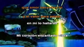 Mi corazón encantado - Dragon Ball GT Latino Opening - Karaoke