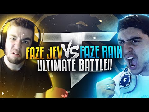FAZE RAIN VS FAZE JEV - ULTIMATE BATTLE!!