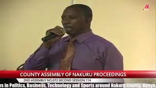 Nakuru County, Bahati ward Mca at County Assembly Segesa