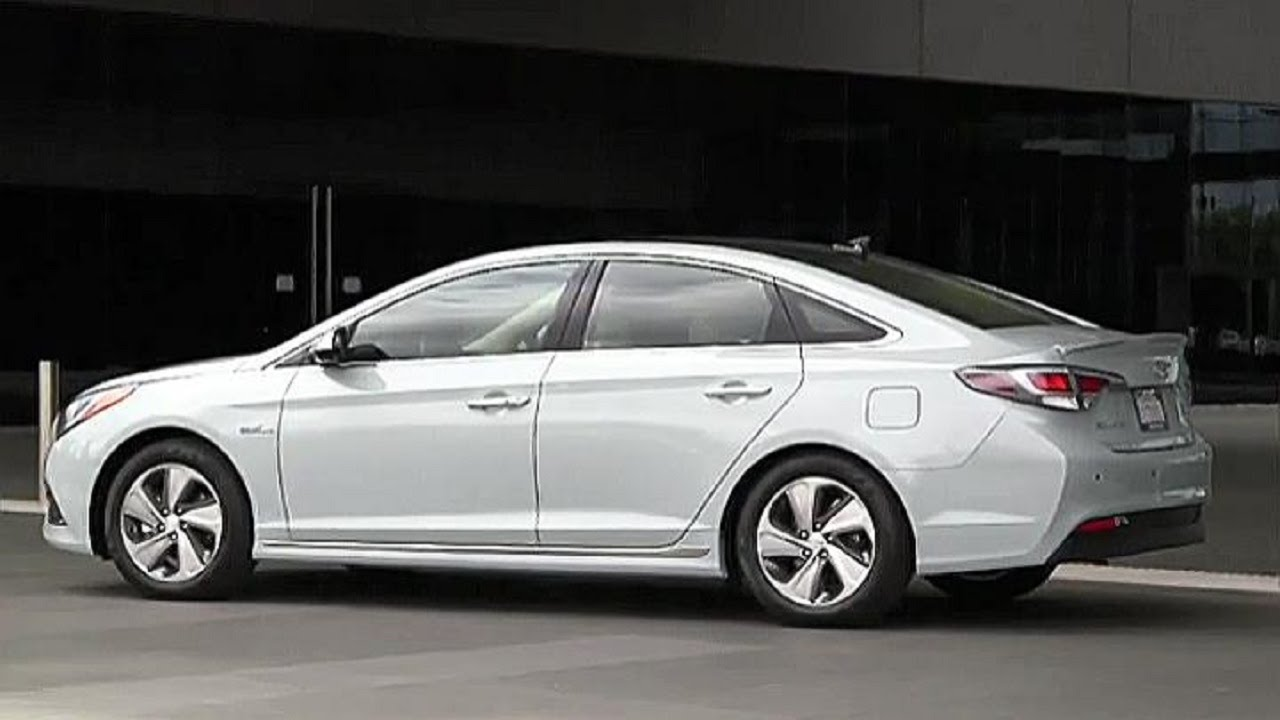 2016 Hyundai Sonata Hybrid Interior Exterior And Driving