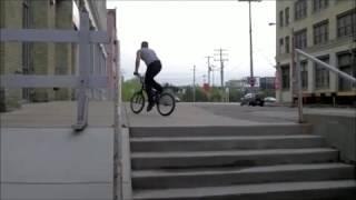 Трюки на велике BMX